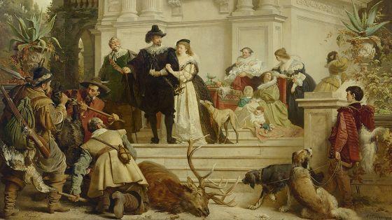 Немецкая и австрийская живопись XIX века из особняка барона А.Л.Штиглица