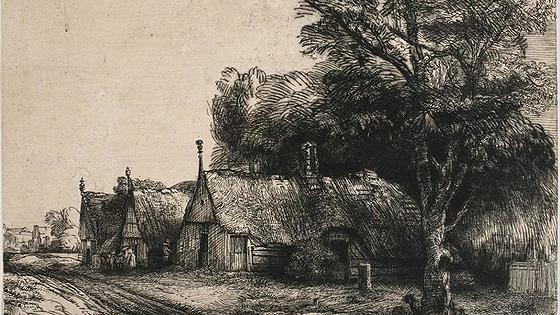 Произведения голландских и фламандских художников XVII–XVIII веков в гравюрах старых мастеров