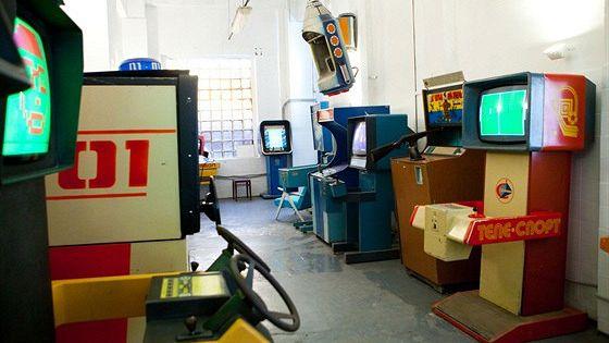 «Ночь в музее» в Музее советских игровых автоматов