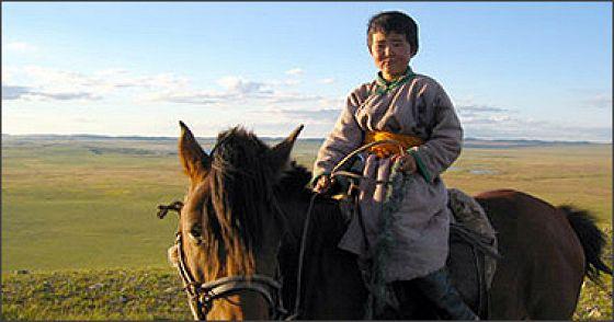 Монгольский пинг-понг (Lü cao di)