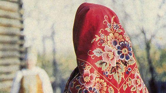 Русские ситцевые платки конца XIX — начала XX века