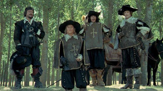 Четыре мушкетера (The Four Musketeers)
