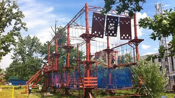 Веревочный парк Fun Parks