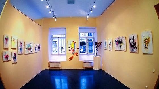 Рождественская выставка новых работ художников галереи