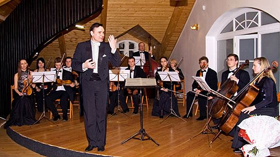 Камерный оркестр «Времена года». Дирижер Владислав Булахов