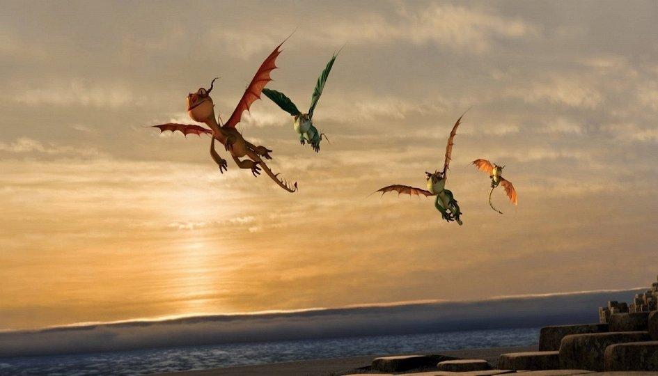 Кино: «Драконы: Подарок Ночной Фурии»