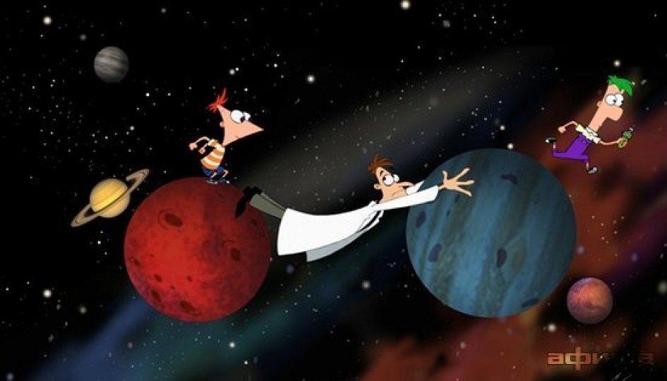 Кино: «Финес и Ферб: Кино. Покорение 2-го измерения»