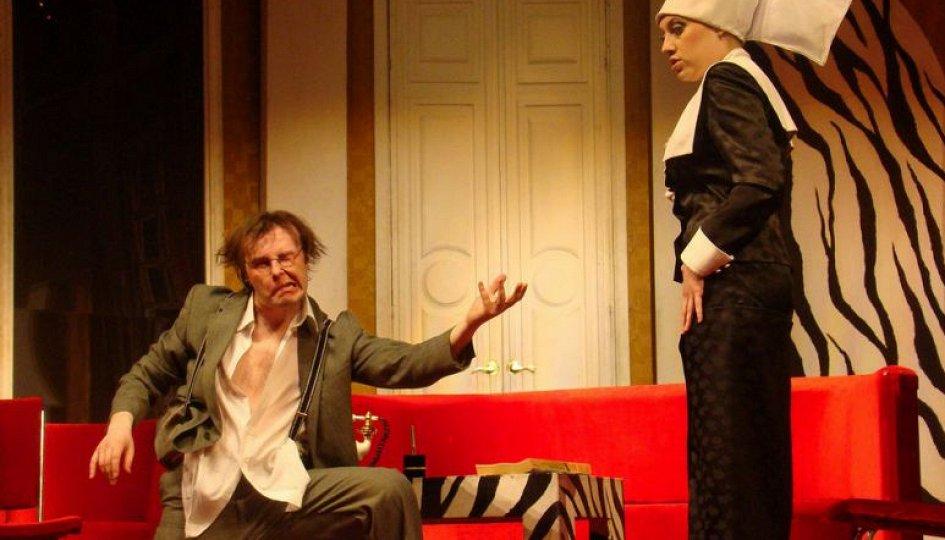 Театр: Он, она, окно, покойник, Тюмень