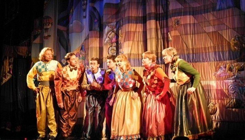 Театр: Маленькая Баба-яга