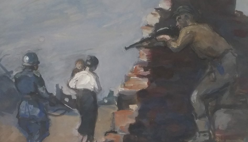 Выставки: Меер Аксельрод. Немецкая оккупация
