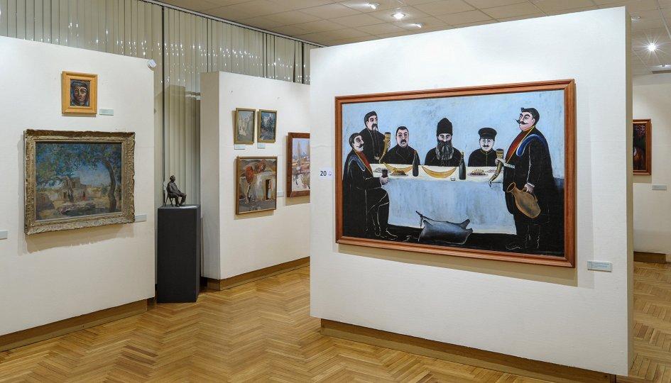Выставки: Изобразительное искусство Средней Азии и Кавказа XX века