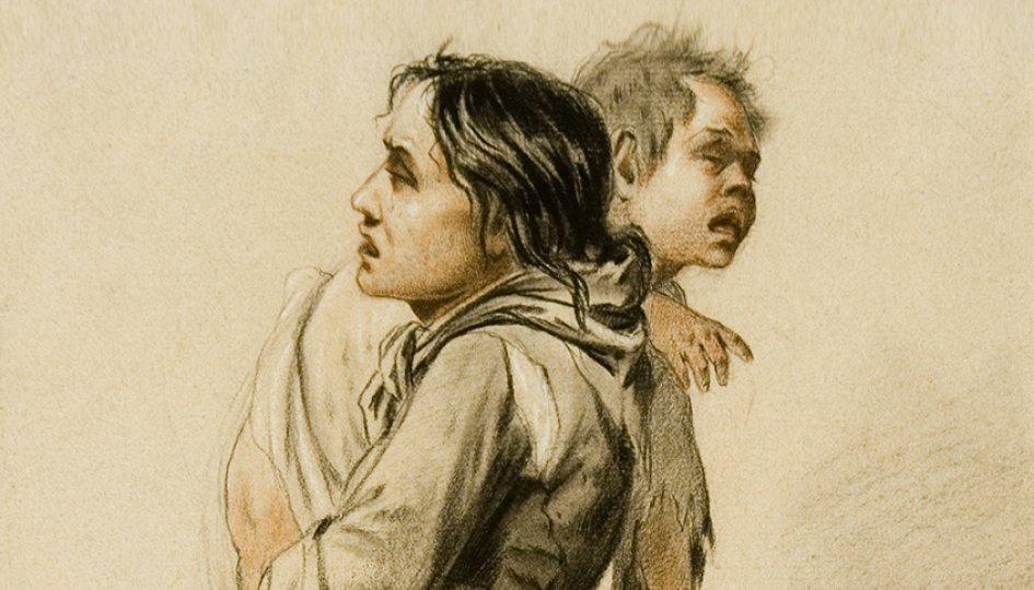 Выставки: Василий Перов. «Женщина с ребенком»