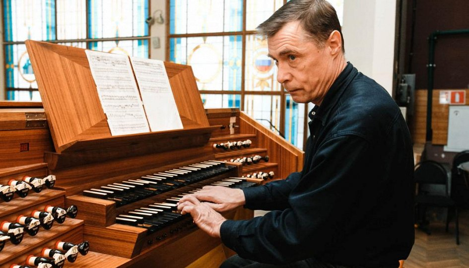 Концерты: «Органная музыка Германии»: Михаил Павалий