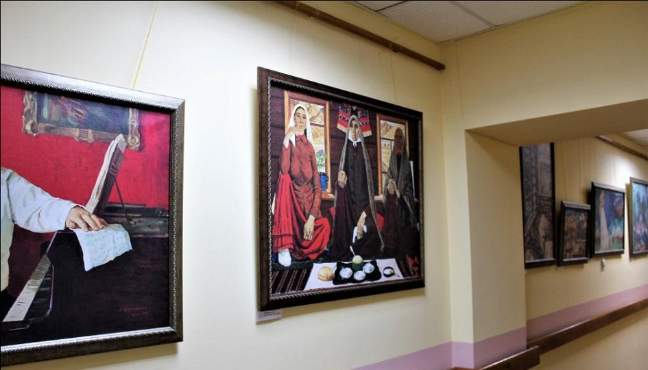 Выставки: Тюлькин и его ученики