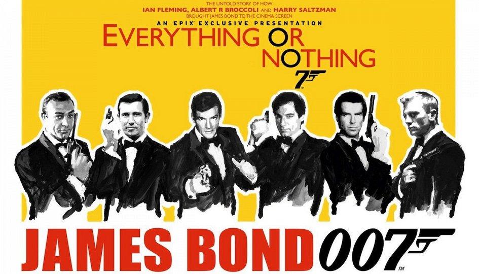 Кино: «Все или ничего: Неизвестная история агента 007»