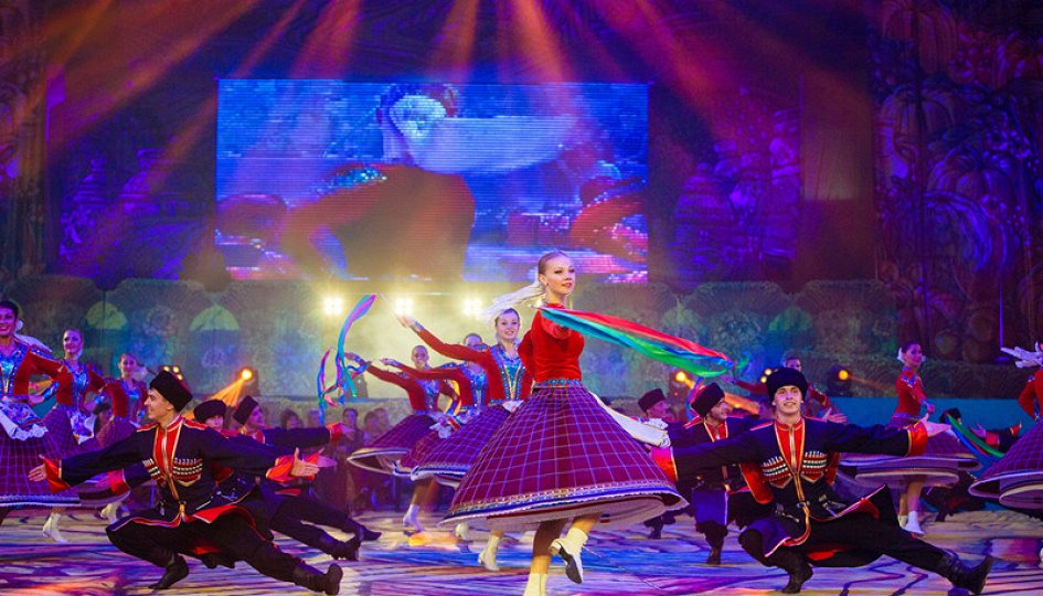 Концерты: «Цветущий и поющий яркий май»: «Кубанская казачья вольница»