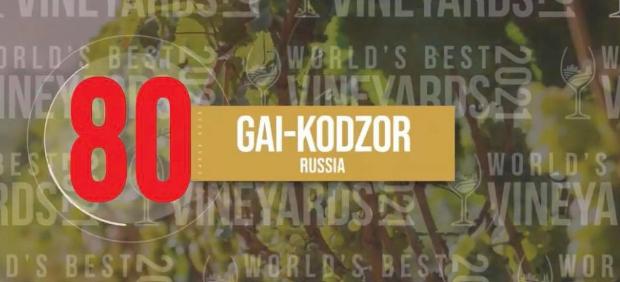 fitcher: Хозяйство Гай-Кодзор вошло в список 100 лучших виноделен мира. Почему это хорошо и где пить российское вино в Москве?
