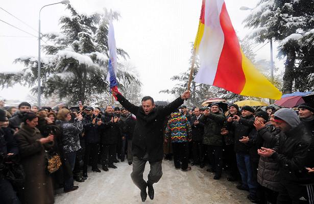 НАТО призвала Россию прекратить признание Южной Осетии иАбхазии