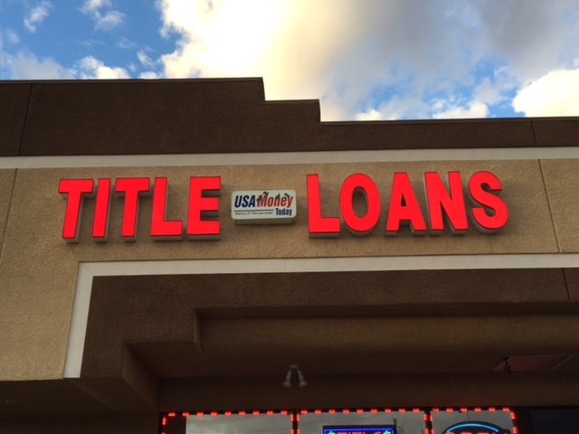 North las vegas title loan