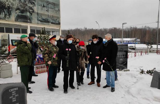ВСеверном Бутове чествовали участника Берлинской операции— ветерана МВДГермана Андросенко