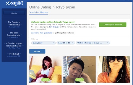 Japan online dating site