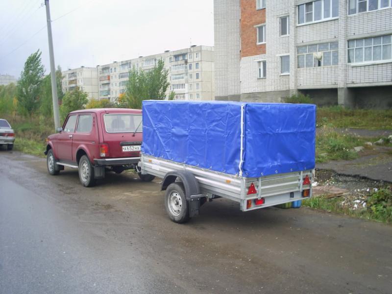 Прицепы для легковых автомобилей в вологде где