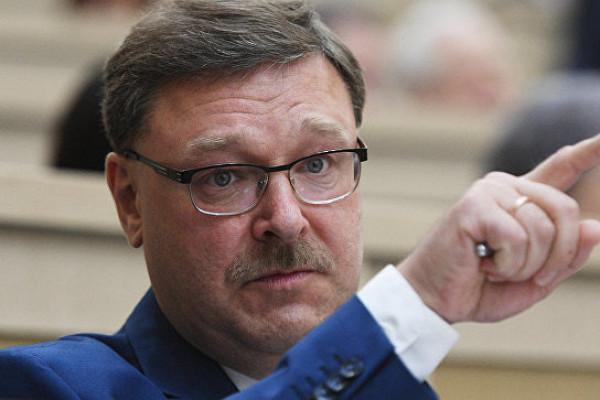 Косачев ответил наслова Санду одолге загаз
