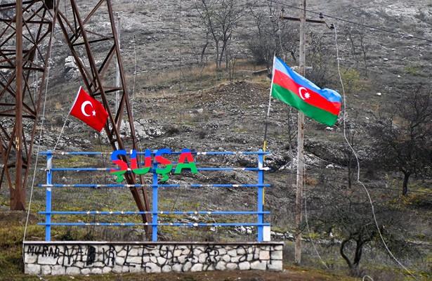 Milliyet (Турция): алый флаг сполумесяцем извездой всегда былвКарабахе…