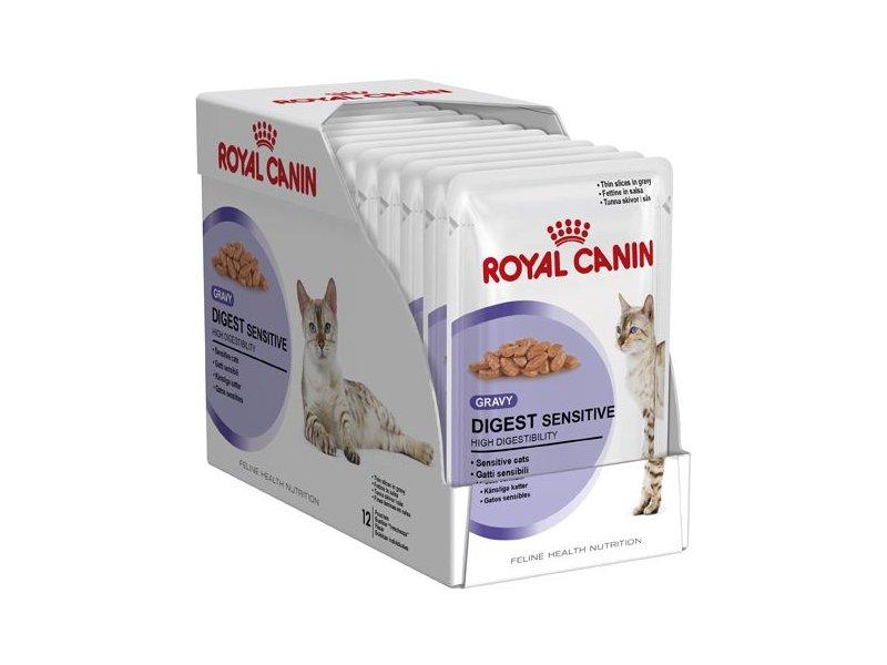 Корм royal canin digest sensitive в соусе