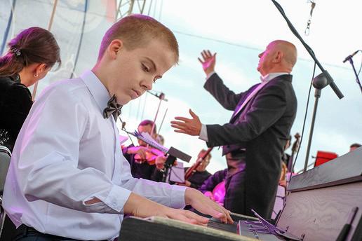 Уникальный концерт вКалининграде: особенные дети сыграют ссимфоническим оркестром