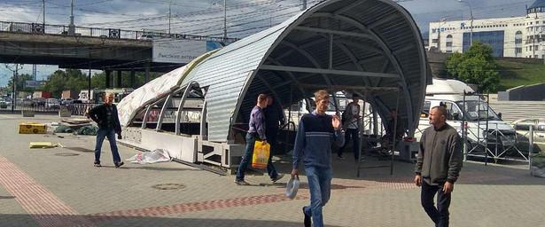 ВНовосибирске закрывают подземный переход через Большевистскую улицу