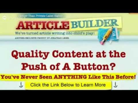 Articlebuildernet review Article Builder reviews and