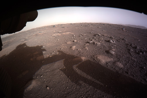 NASA опубликовало первые звуки споверхности Марса