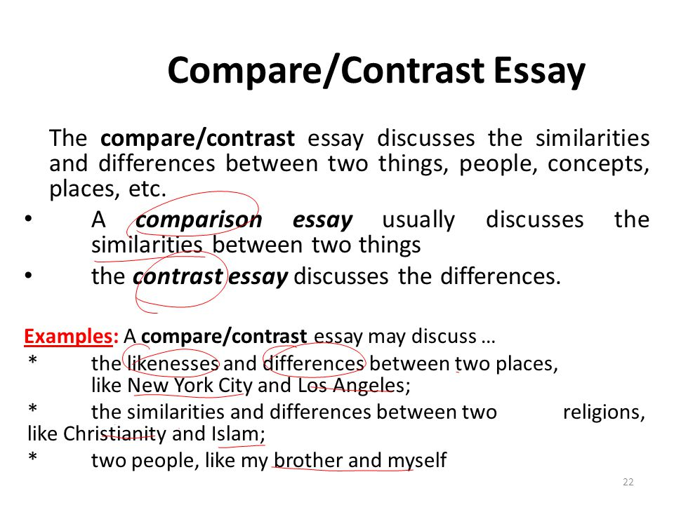 Write my thesis statement comparing two people