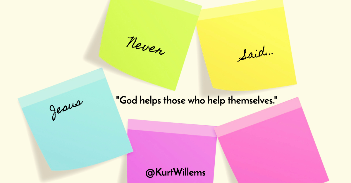 God helps those who help themselves - Wikipedia