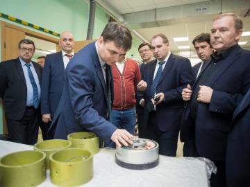 Напредприятиях Санкт-Петербурга ведутся импортозамещающие разработки дляшельфовых месторождений