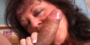 Slut load hand job