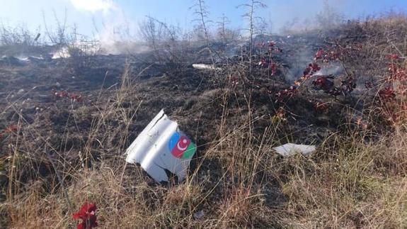 Армия обороны Карабаха сбила тритурецких беспилотника