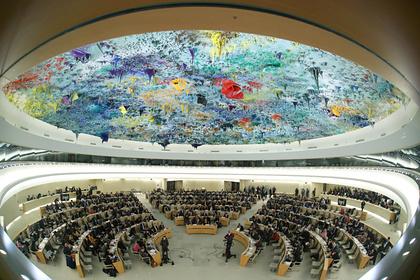СШАвернулись вСовет поправам человека ООН