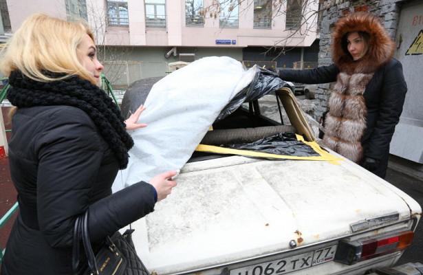 Брошенные автомобили эвакуировали вПресненском районе