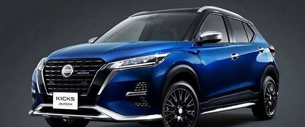 Nissan показала салон нового кроссовера Kicks Autech