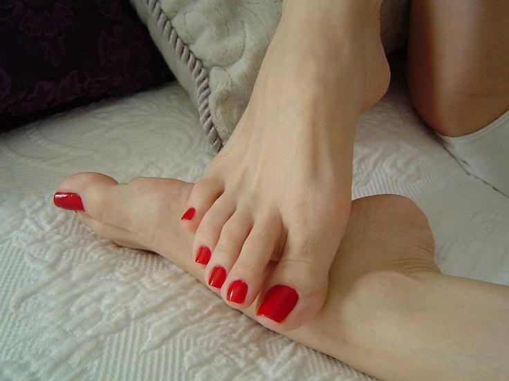 Ankle socks fetish worship