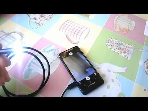 Камера эндоскоп для андроид с алиэкспресс