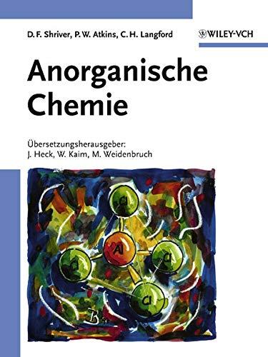 Inorganic Chemistry shriver and atkins 5th edition