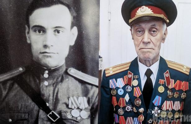 Курск. Умер ветеран войны Григорий Гарагуля