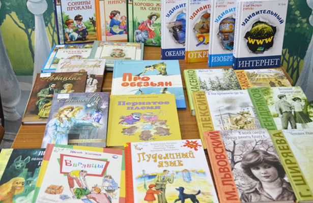 Городские библиотеки Пензы получили вдаротиздательств 100книг длядетей