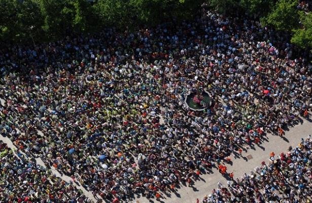 Митинг детей‐сирот прошел воВладивостоке