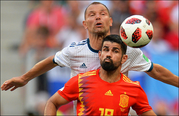 Трансляция игры Россия— Испания стала одной изсамых рейтинговых за20лет