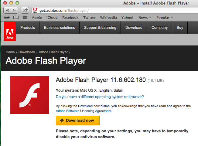 Adobe Flash Player Manual And Install - excidode