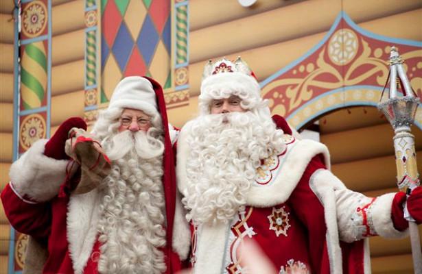 Новогодний саммит. Награнице России иФинляндии встретятся ДедМороз иЙоулупукки